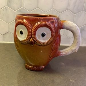 🦉 Owl Mug Gibson Brown
